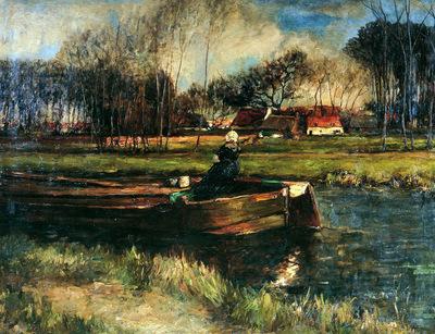 Roelofs Willem Bot in canal Sun