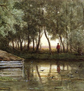 Roelofs Willem The Pond Sun