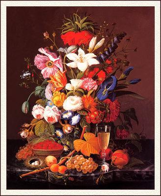 bs flo Severin Roesen Victorian Bouquet