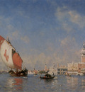 Rosier Amedee The Grand Canal Venice