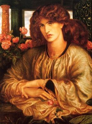 Rossetti, Dante Gabriel La Donna Della Finestra end