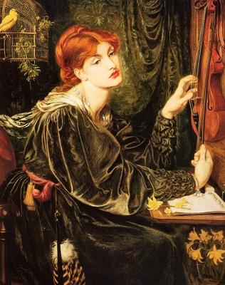 Rossetti, Dante Gabriel Veronica Veronese end