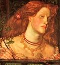 Rossetti, Dante Gabriel Fair Rosamund 1861 end