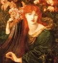 Rossetti, Dante Gabriel La Ghirlandata end