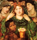 Rossetti, Dante Gabriel The Beloved 1866 end