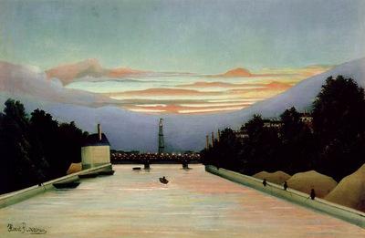 Rousseau,H  La tour Eiffel, ca 1898, Museum of Fine Arts, Ho
