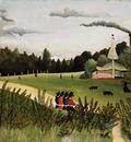 Rousseau,H  Landscape Park with Kiosk, 1902 03, Barnes found