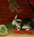 Rousseau,H  The meal of the rabbit, 1908, Barnes foundation