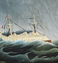 the ship in the storm, rousseau 1600x1200 id