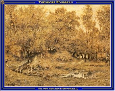 PO Vp S2 17 Rousseau The fairy mere near Fontainebleau