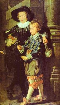 Peter Paul Rubens Artists Sons Albert and Nicholas