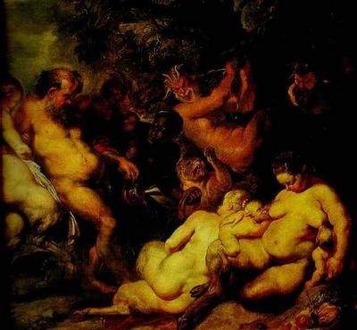 Peter Paul Rubens Bacchanalia