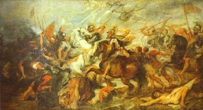 Peter Paul Rubens Henry IV at the Battle of Ivry
