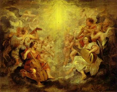 Peter Paul Rubens Music Making Angels