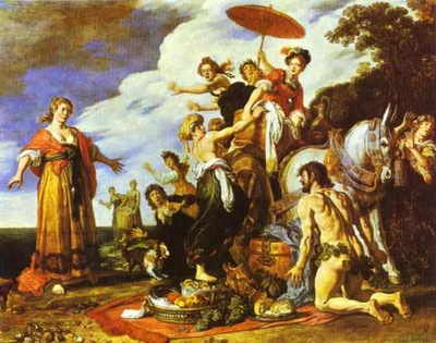 Peter Paul Rubens Odysseus and Nausicaa