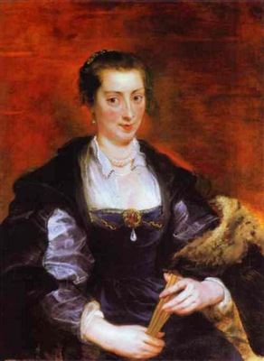 Peter Paul Rubens Portrait of Isabella Brant