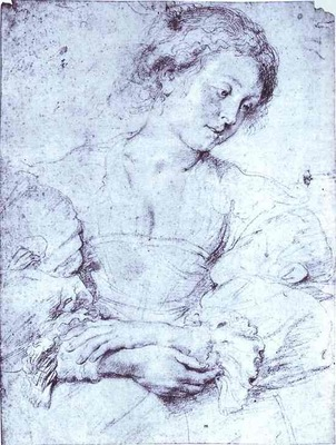 Peter Paul Rubens Portrait of a Girl