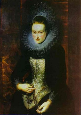 Peter Paul Rubens Portrait of a Lady with a Rosary
