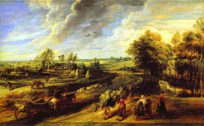 Peter Paul Rubens Return of the Peasants from the Fields