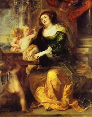 Peter Paul Rubens St  Cecilia