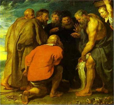 Peter Paul Rubens St  Peter Finding the Tribute Money