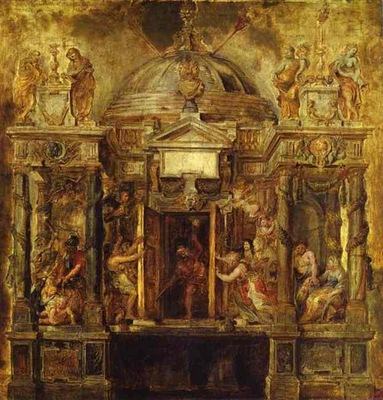 Peter Paul Rubens Temple of Janus