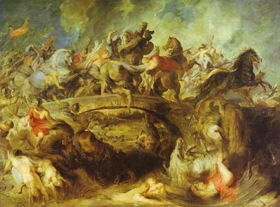 Peter Paul Rubens The Battle of the Amazons