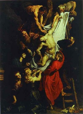 Peter Paul Rubens The Descent from the Cross central part of the triptych