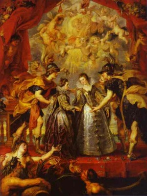 Peter Paul Rubens The Exchange of Princesses