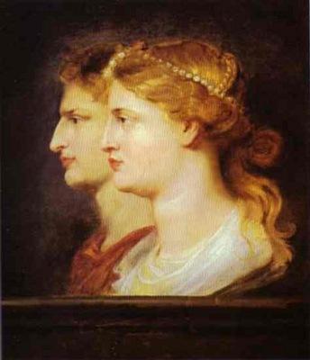 Peter Paul Rubens Tiberius and Agrippina