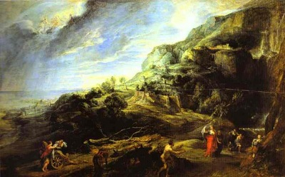 Peter Paul Rubens Ulysses on the Island of the Phaeacians