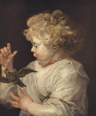 Rubens Boy with Bird