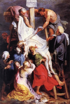rubens descent from the cross 1616