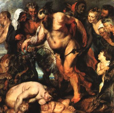 Rubens Drunken Silenus 1618 Alte Pinakothek Munchen