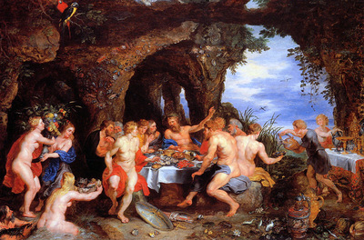 Rubens Peter Feastmeal of Achelous Sun