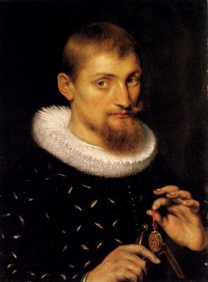 Rubens Portrait Of A Man