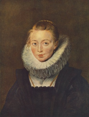Rubens Portrait of a Chambermaid of Infanta Isabella, the Go