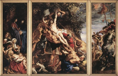 Rubens Raising of the Cross