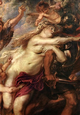Rubens The Consequences of War detail1