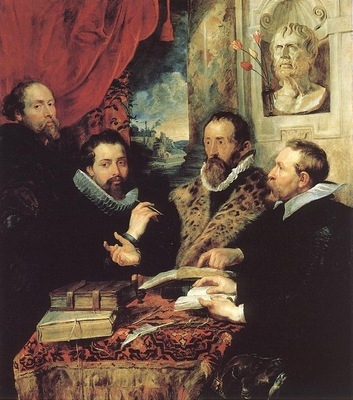 Rubens The Four Philosophers Palazzo Pitti