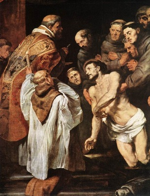 Rubens The Last Communion of St Francis