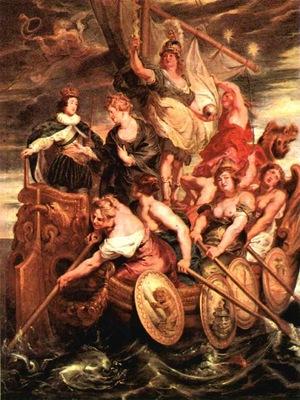 Rubens The Majority of Louis XIII, 1621 1625, Louvre