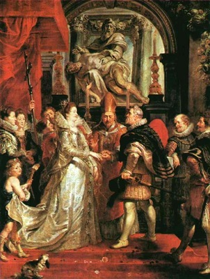 Rubens The Marriage by Proxy, 1621 1625, Louvre