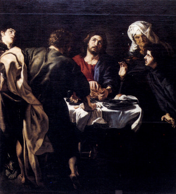Rubens The Supper At Emmaus