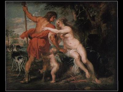 Rubens Venus and Adonis ca 1635 Metropolitian Museum of Art,
