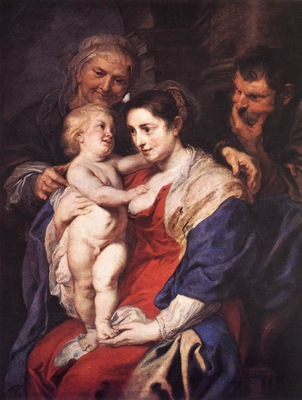 The Holy Family with St Anne WGA