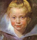 Peter Paul Rubens Head of a Girl