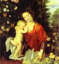 Peter Paul Rubens Madonna and Child