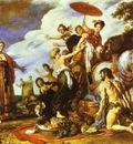 Peter Paul Rubens Odysseus and Nausicaa