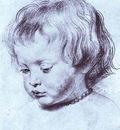 Peter Paul Rubens Portrait of a Boy Nicholas Rubens